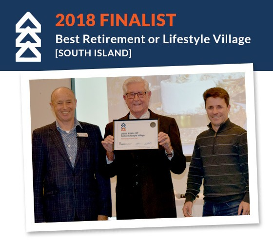Finalist - Best Retirement Lifestyle Village