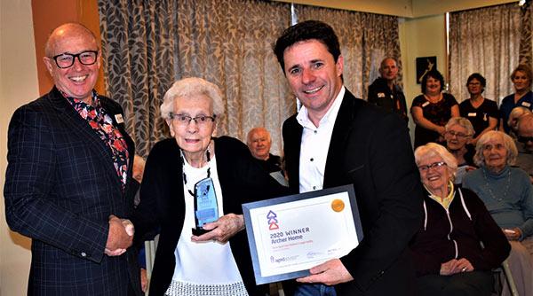 Archer Home Wins Aged Advisor Award