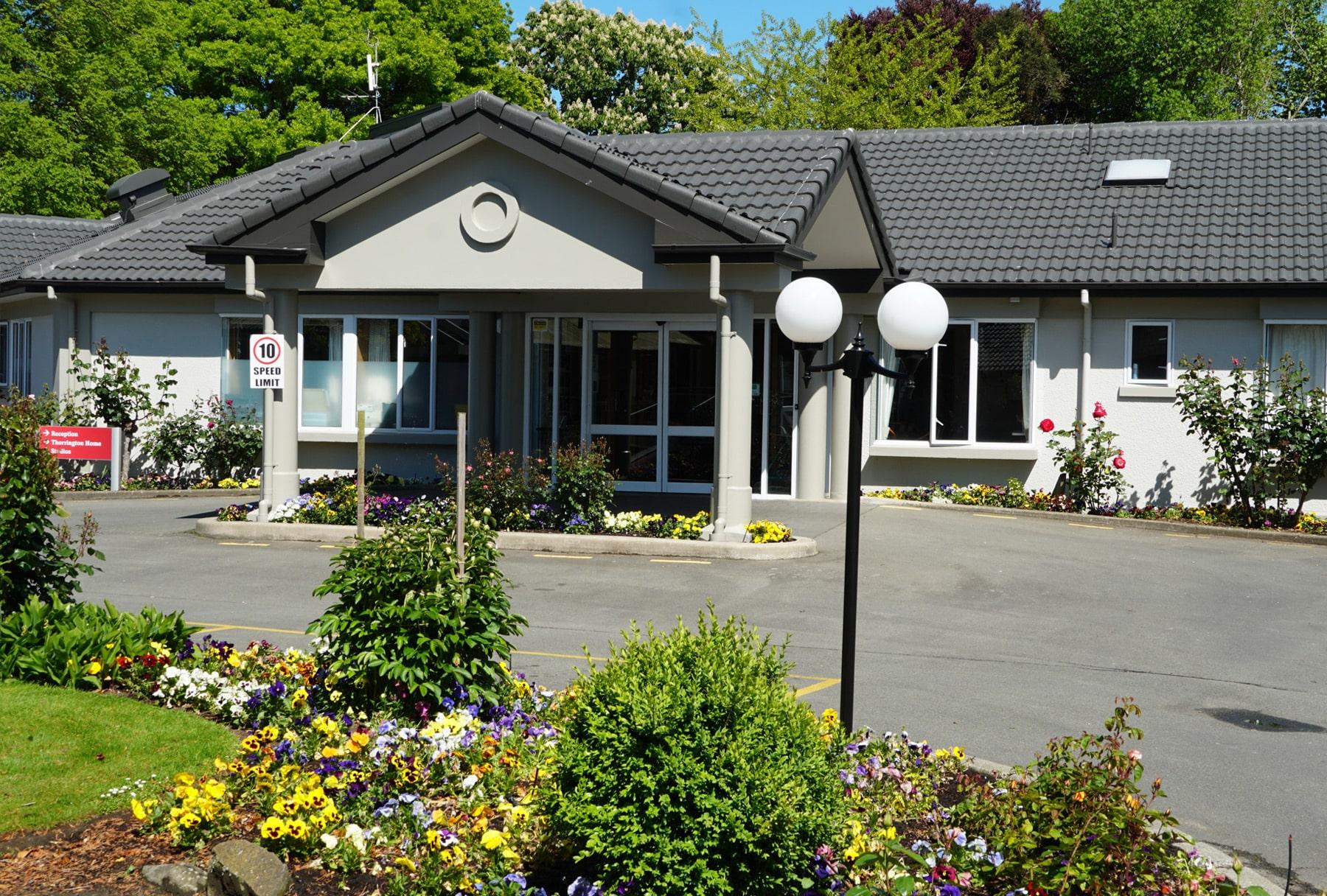 Thorrington Home main entrance