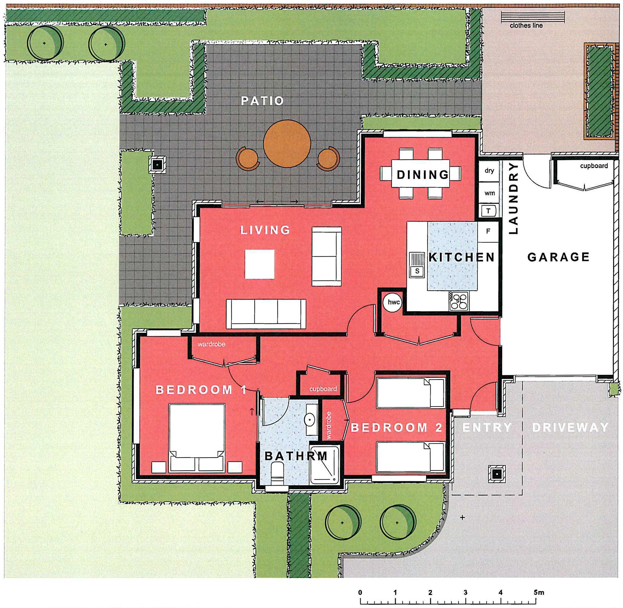 Thorrington Villa #33 Floorplan - Archer Group