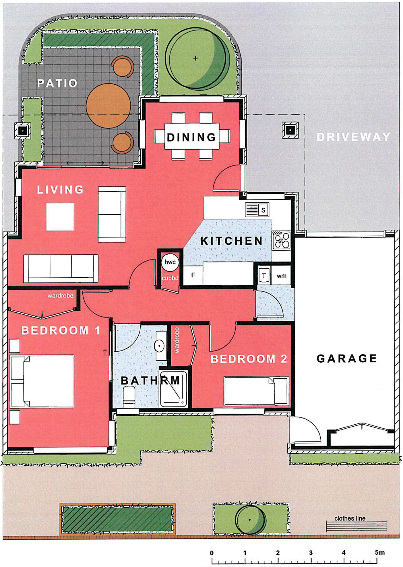 Thorrington Villa #35 Floorplan - Archer Group