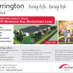 Thorrington Village villas Press ad