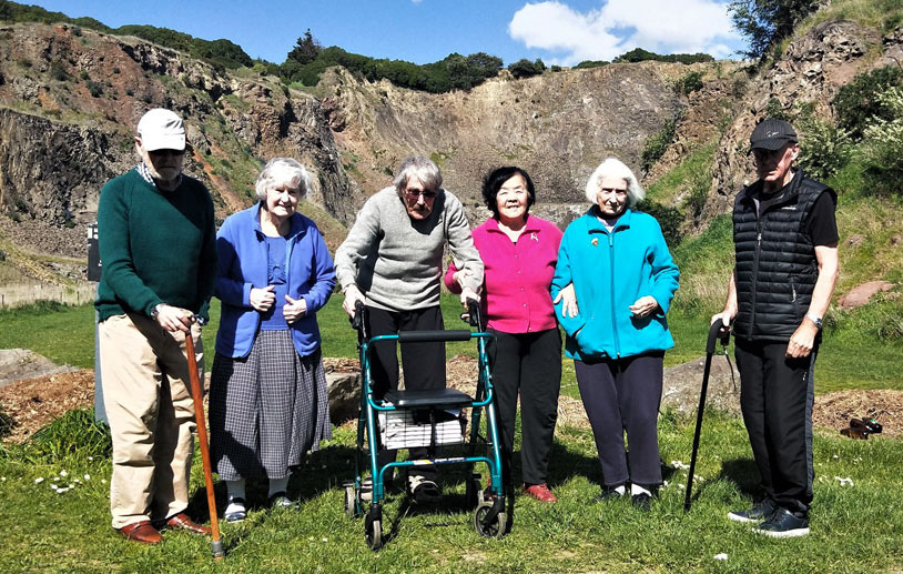 Archer residents visit Halswell Quarry