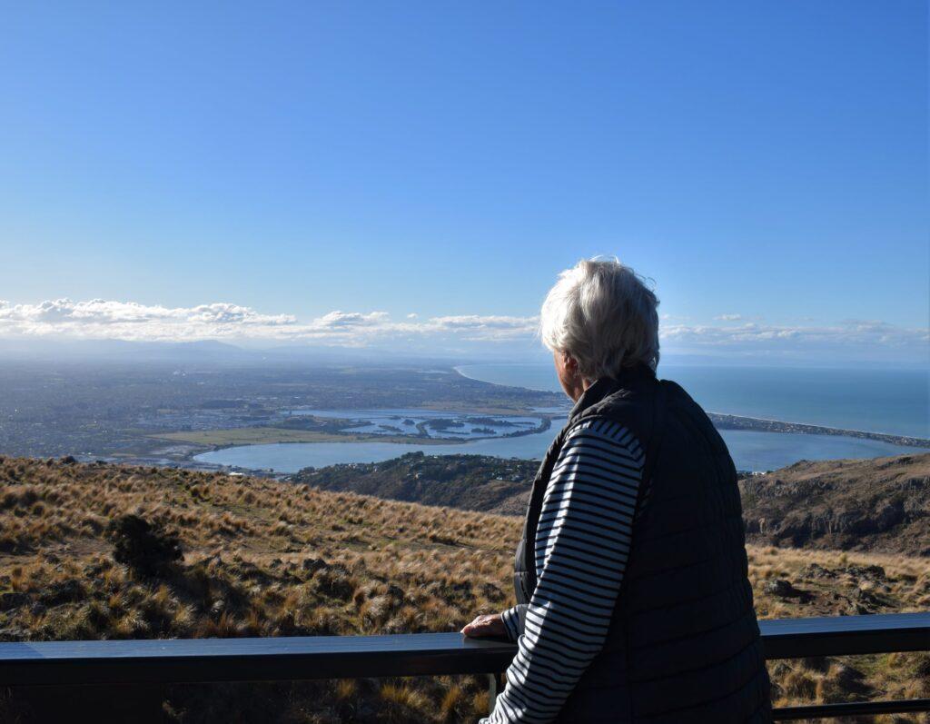 Archer gondola trip - View of Christchurch