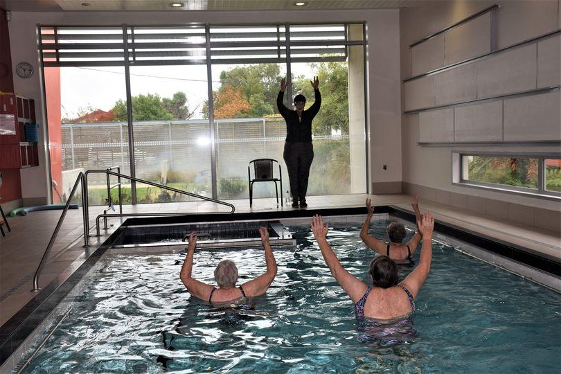 Archer Leisure Centre aquacise class