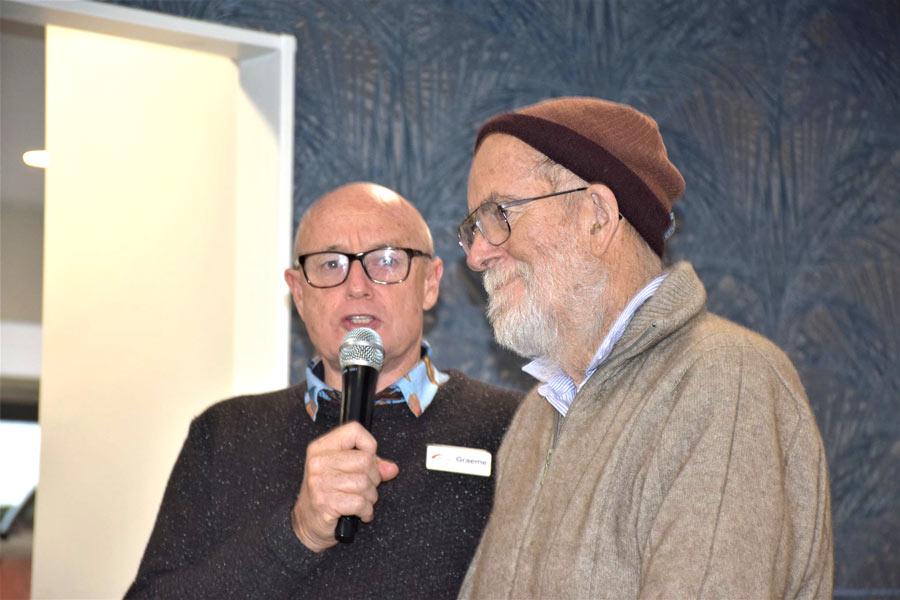 Celebrating a retiring chaplain's dedicated service