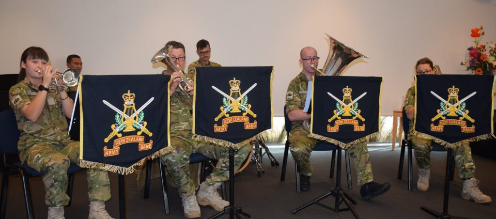 The Army Band visits Archer Village