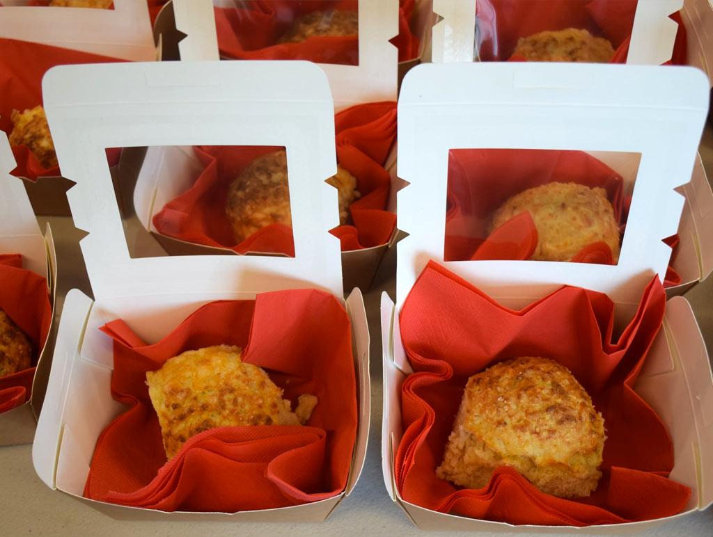 2021 Covid-19 Lockdown - Cheese scone baking